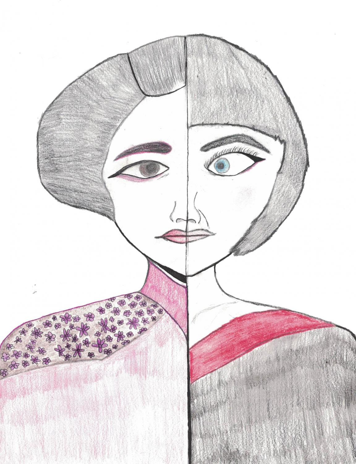 Depiction of a geisha (L) and a culturally offensive costume (R)