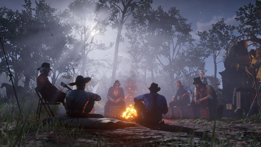 In-game photo of Red Dead Redemption 2