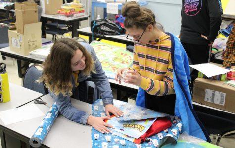 Santa's Helpers bring holiday cheer