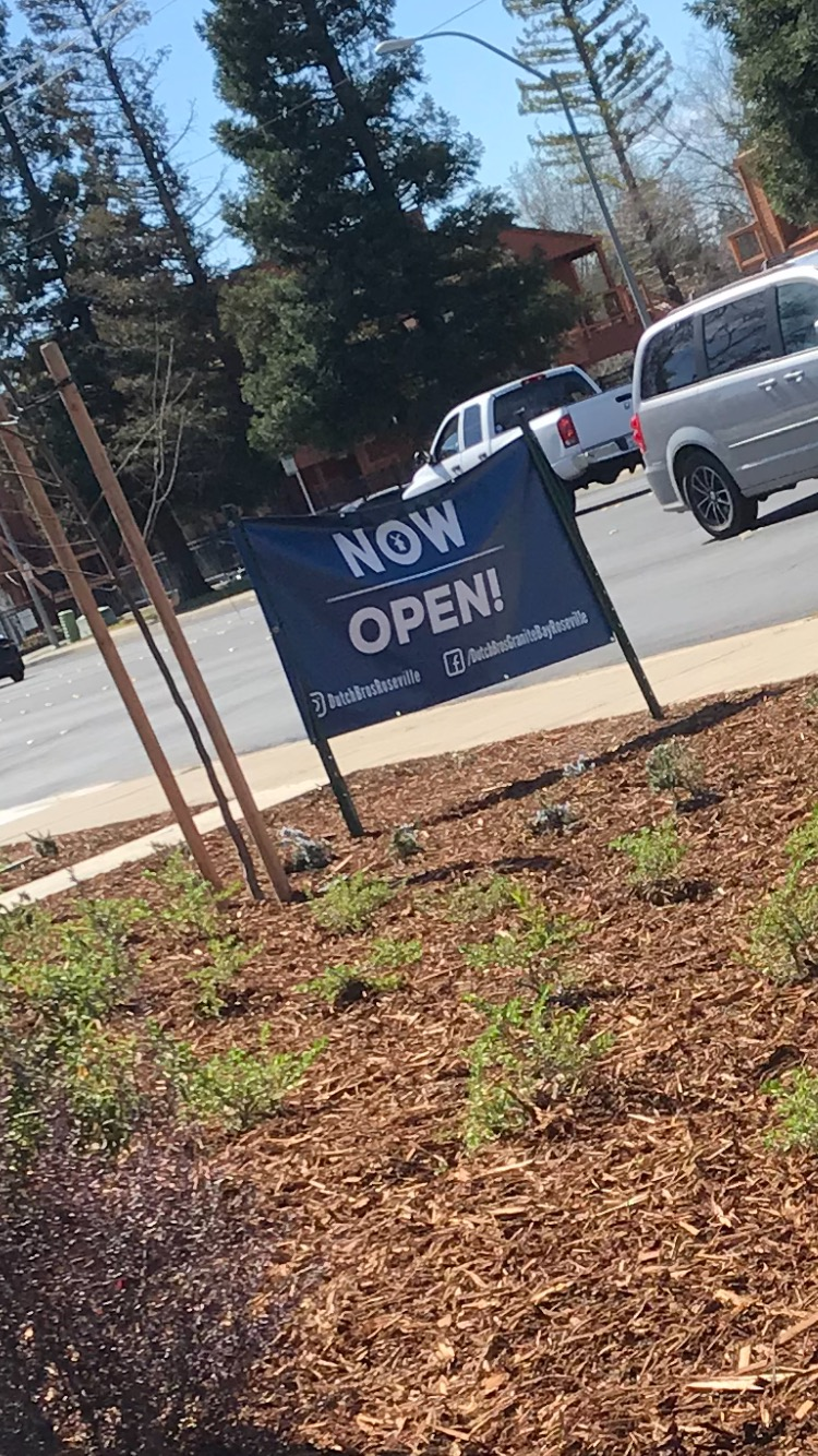 Dutch Bros is now open!