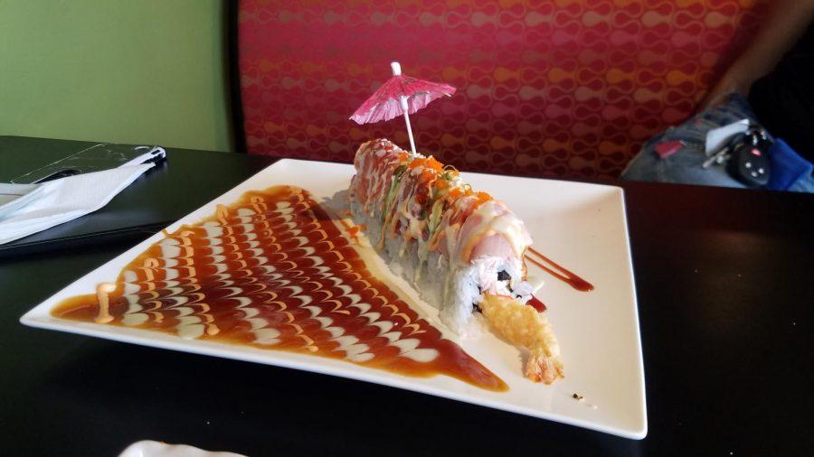 Four+Seasons+roll+from+Bonsai+Japanese+Cuisine