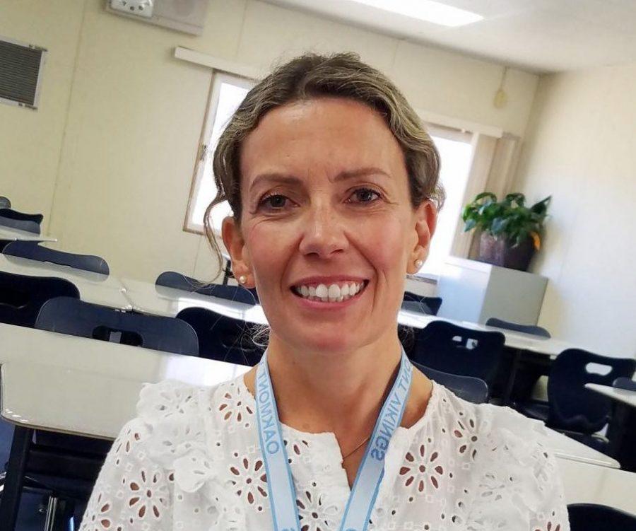 Spanish teacher Mrs. Lane