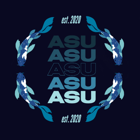 One of the Asian Student Union's logos for the 2020 school year.