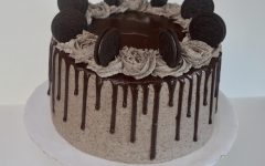 Ella Pock's Oreo Cookies and Cream cake from Sprinkle Box Treats.