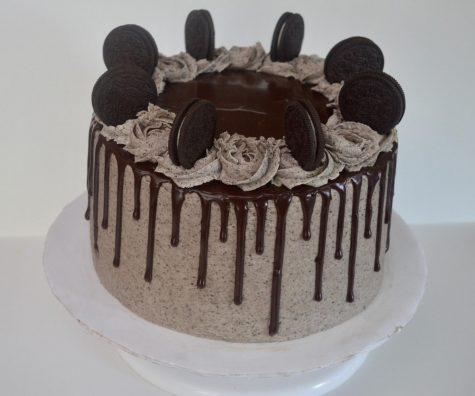 Ella Pock's Oreo Cookies and Cream cake from Sprinkle Box Treats.
