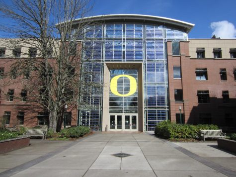 The University of Oregon is one of the many schools participating in college presentations this year.