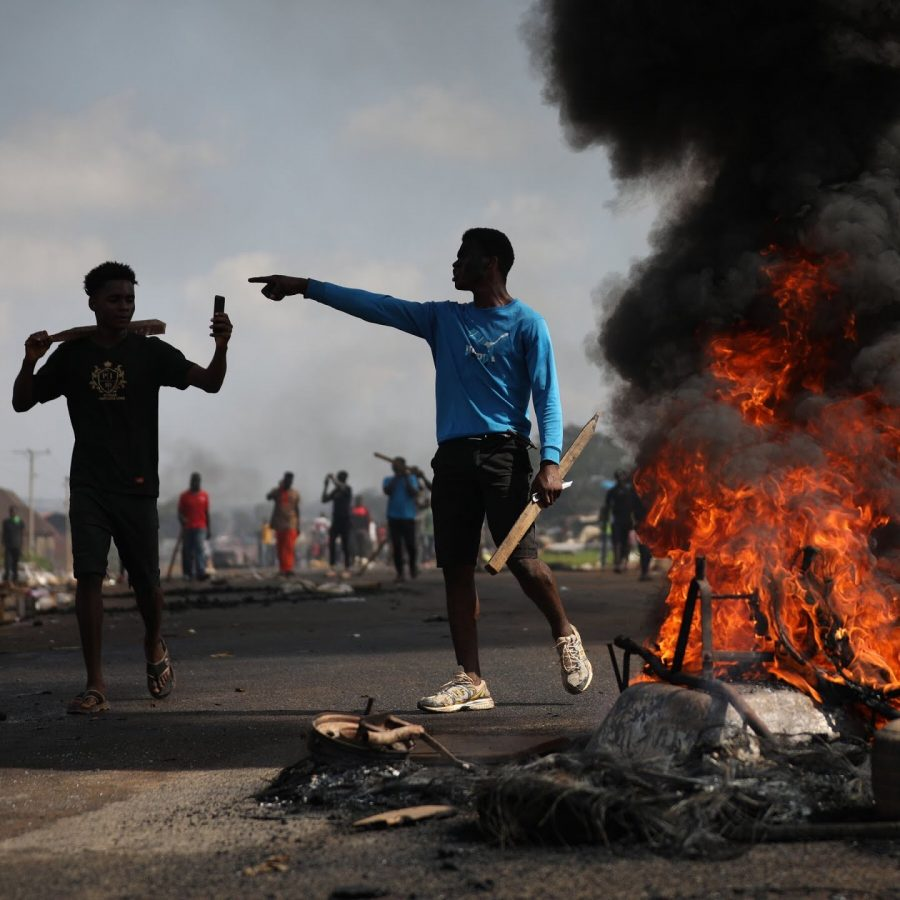 Protestors+dissenting+the+infamous+SARS+unit+and+its+unprovoked+acts+of+violence.