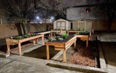 The complete sensory garden at Aim Higher Adult Development Center in Roseville, California.