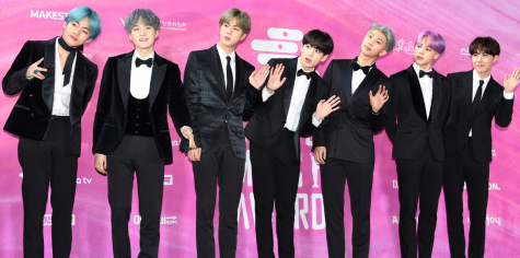 BTS at the 2019 Seoul Music Awards on January 15, 2019.