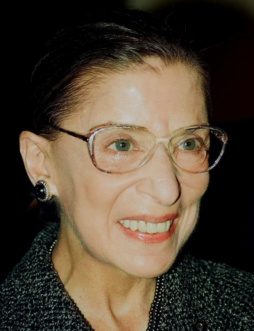 Ruth Bader Ginsburg pictured in Washington D.C. in 2000.