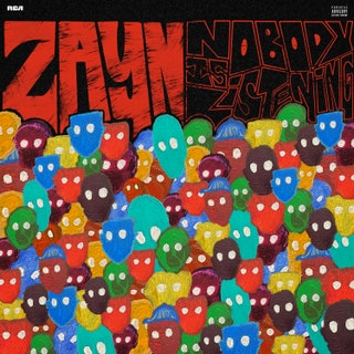 The album cover for Zayn Malik's third solo album. It has its moments, but overall fell short.