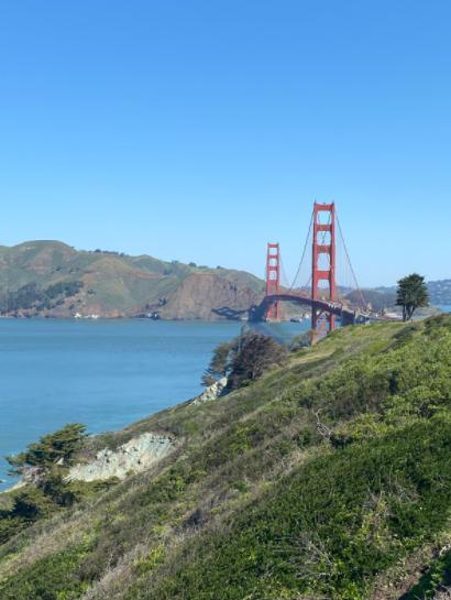 The Golden Gate Bridge during spring break.  Photo Credit: Emily Sjoberg