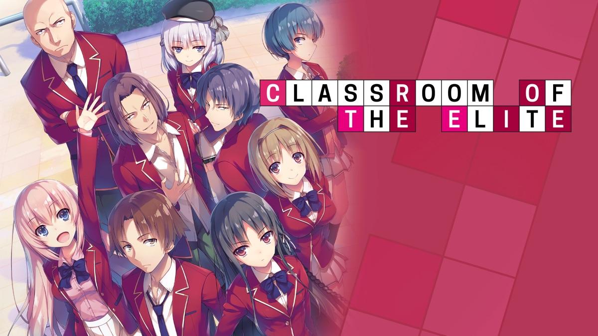 "An illustration of the ""Classroom of the Elite"" series, Courtesy of Shōgo Kinugasa, Shunsaku Tomose, and Media Factory"
