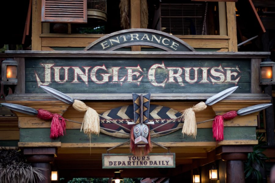 The Jungle Cruise ride at Disneyland, the inspiration for Disney's new movie starring Emily Blunt and Dwayne Johnson.