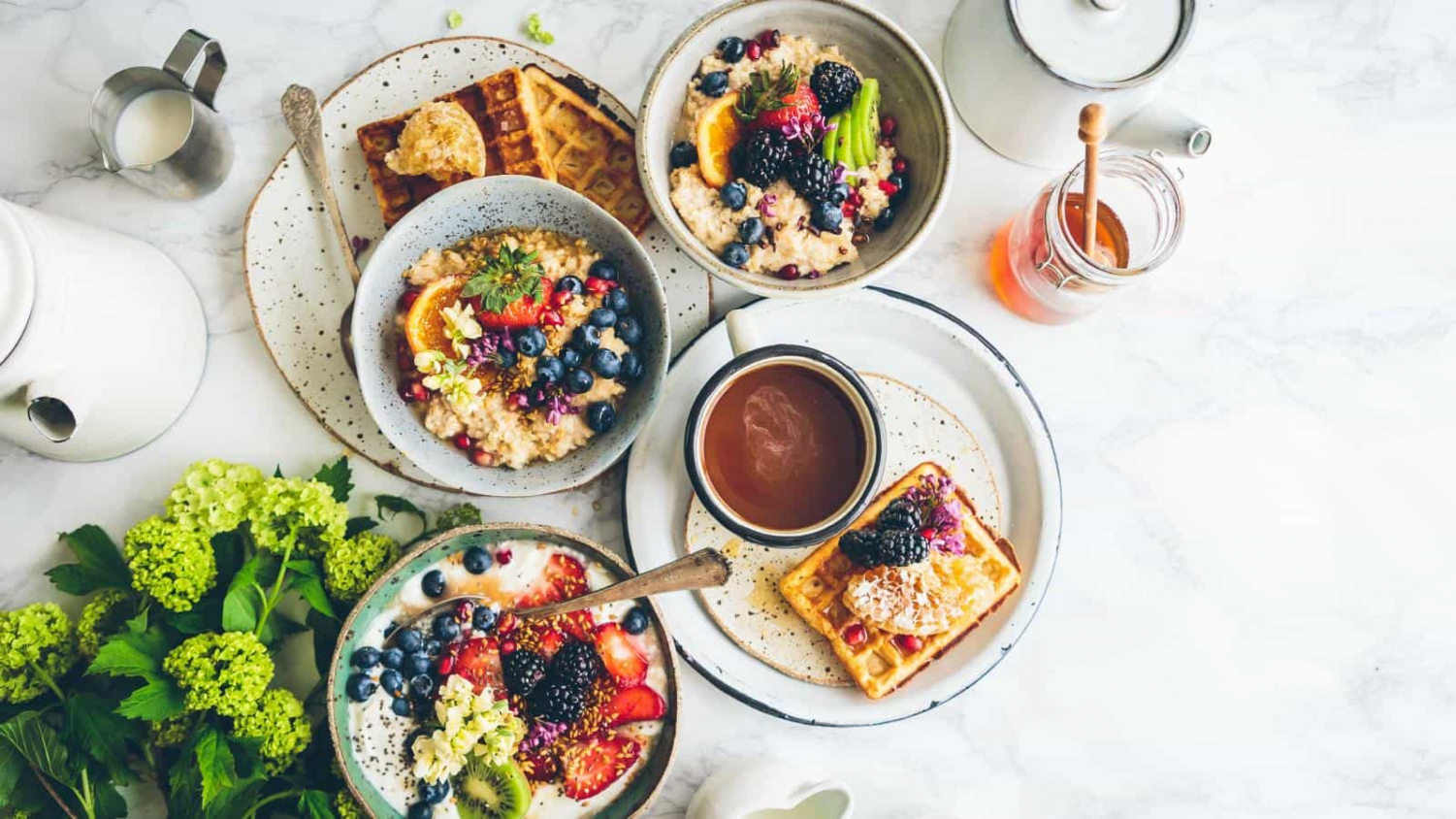 Mornings can be chaotic, but breakfast is worth finding time for.