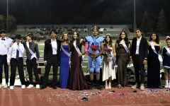 Homecoming Royalty from every grade pose for the camera.